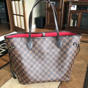 Louis Vuitton Neverful mm in damier